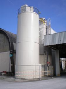 silo rond monobloc